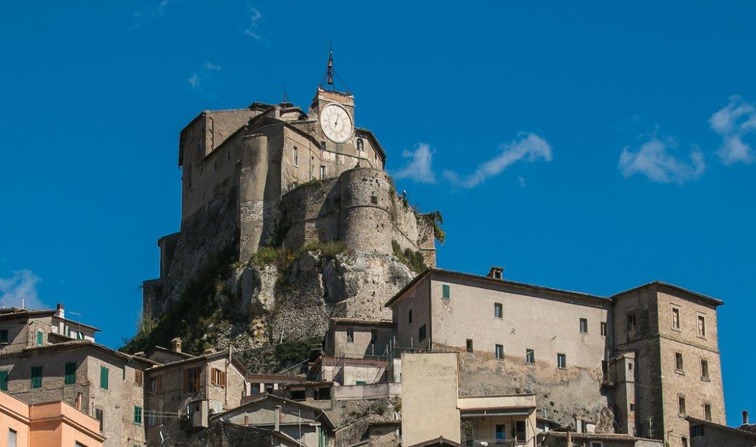 Subiaco, in Lazio, dove nacque Lucrezia