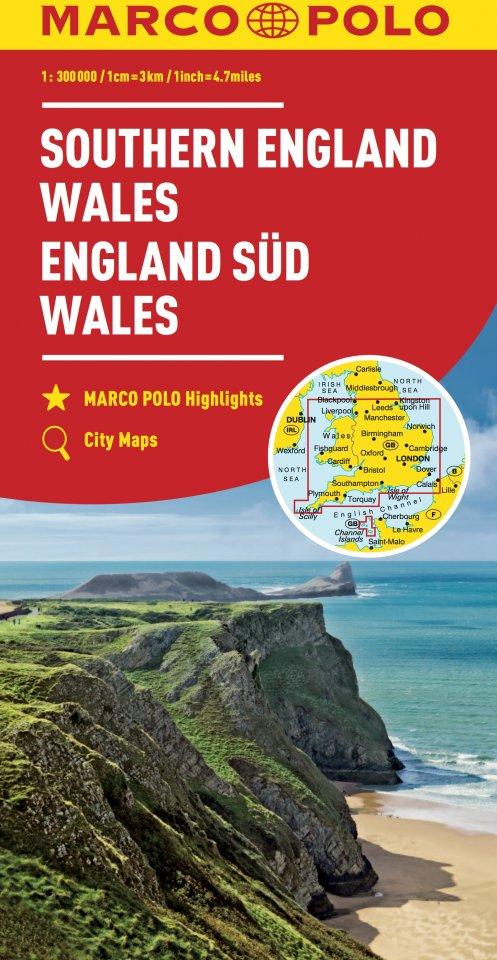 Cartina Stradale Inghilterra Del Sud.Carta Stradale Inghilterra Del Sud Galles